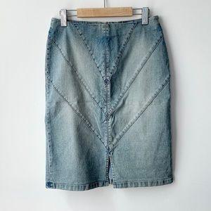 Jeans pencil skirt